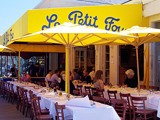 Le petit four is dog friendly for Pooch hotel west los angeles