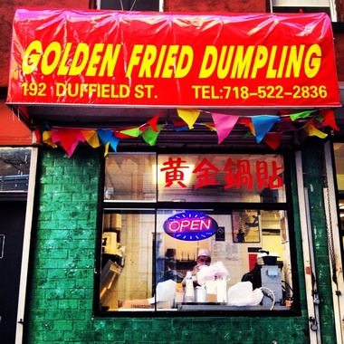 Golden Fried Dumpling