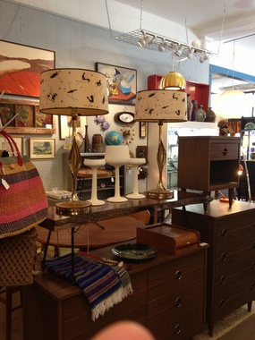 Mad Men Furniture and Funky Accessories