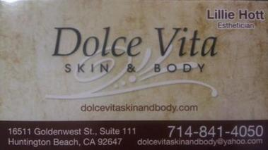 Dolce Vita Skin &amp; Body