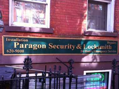 Paragon Security &amp; Locksmith