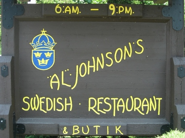 Al Johnson Swedish Restaurant