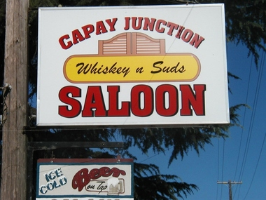 Capay Junction Saloon