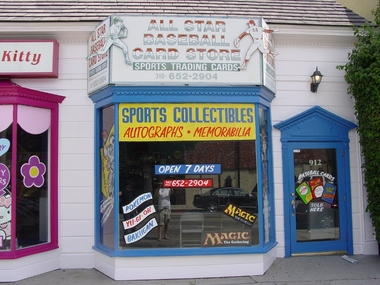 All Star Baseball Card Store