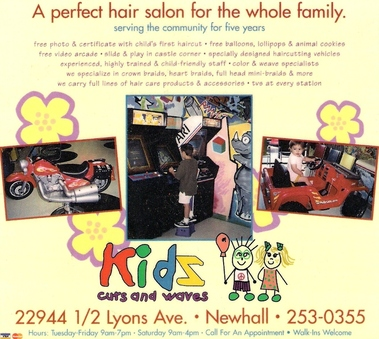 Kids Cuts &amp; Waves