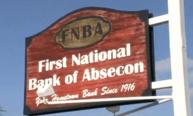 First National Bank Of Absecon