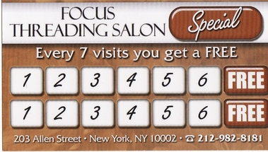 Focus Threading Salon