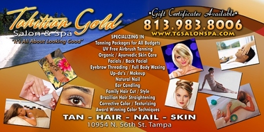 Tahitian Gold Salon &amp; Spa Tanning