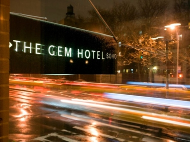 Gem Hotel Soho New York Hotels