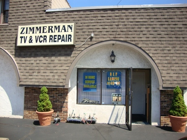 Zimmerman TV &amp; Vcr Repair