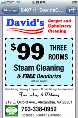 Davids Carpet &amp; Upholstery Cleaning