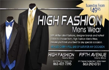 High Fashions Men's Wear