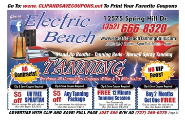 Electric Beach Nail &amp; Tanning