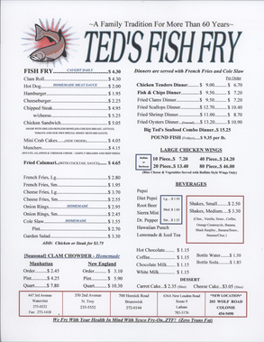 Ted's Fish Fry Inc