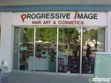 Progressive Image Hair Art