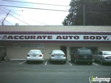 Accurate Auto Body Inc