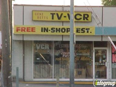 Betts Gene TV &amp; VCR Repair