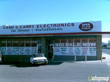 Cash &amp; Carry Electronics