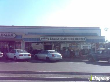 Mario's Family Clothing Ctr