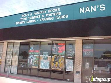 Nan's Games & Comics Too