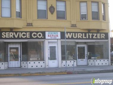 J &amp; K Service Co Wurlitzer Parts