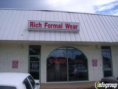 Rich Formal Wear