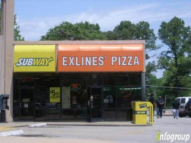 Exlines&#039; Best Pizza In Town
