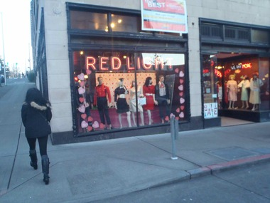Red Light Clothing Exchange