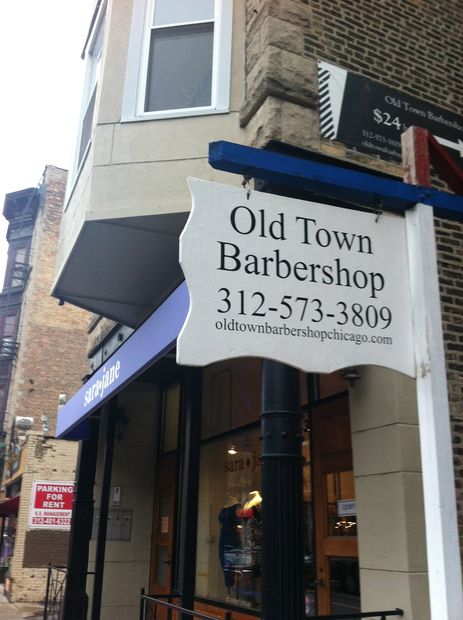 Old Town Barbershop Chicago