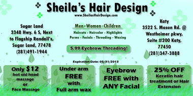 Sheila&#039;s Hair Design