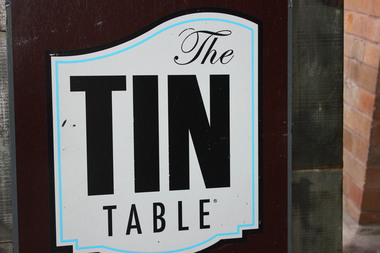 Tin Table